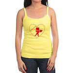 Be My Valentine Cupid Jr. Spaghetti Tank