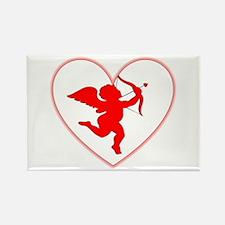 Cupis's Arrow Valentine Rectangle Magnet