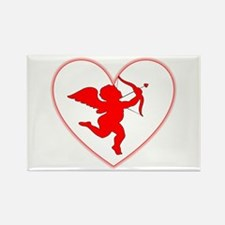 Cupis's Arrow Valentine Rectangle Magnet (10 pack)