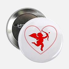 "Cupis's Arrow Valentine 2.25"" Button"