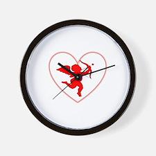 Cupis's Arrow Valentine Wall Clock
