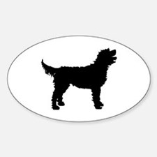 Labradoodle Oval Decal