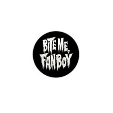 Bite Me Fan Boy Mini Button