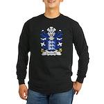 Camville Family Crest Long Sleeve Dark T-Shirt