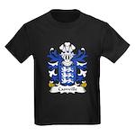 Camville Family Crest Kids Dark T-Shirt