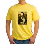 Mona Lisa / Corgi (bibl)Mona's Pembroke Yellow T-S