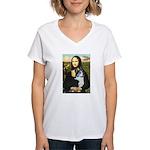 Mona Lisa / Corgi (bibl)Mona's Pembroke Women's V-
