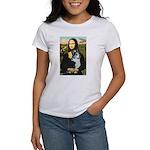 Mona Lisa / Corgi (bibl)Mona's Pembroke Women's T-