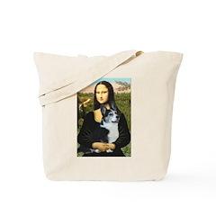 Mona Lisa / Corgi (bibl)Mona's Pembroke Tote Bag