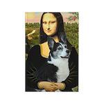 Mona Lisa / Corgi (bibl)Mona's Pembroke Rectangle