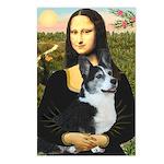 Mona Lisa / Corgi (bibl)Mona's Pembroke Postcards
