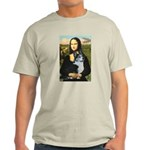 Mona Lisa / Corgi (bibl)Mona's Pembroke Light T-Sh