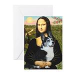 Mona Lisa / Corgi (bibl)Mona's Pembroke Greeting C