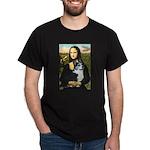 Mona Lisa / Corgi (bibl)Mona's Pembroke Dark T-Shi
