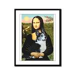 Mona Lisa / Corgi (bibl)Mona's Pembroke Framed Pan