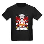 Byrbeck Family Crest Kids Dark T-Shirt