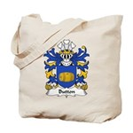 Button Family Crest Tote Bag