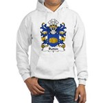Button Family Crest Hooded Sweatshirt