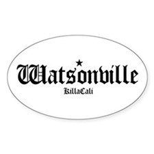 Watsonville Oval Decal