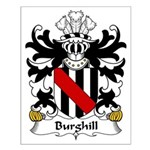 Burghill Family Crest Small Poster
