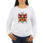 Burgh Family Crest Women's Long Sleeve T-Shirt