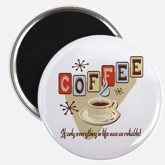 """Reliable Coffee 2.25"""" Magnet (10 pack)"""