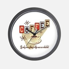 Reliable Coffee Wall Clock