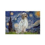 English Setter / Starry Night Rectangle Magnet (10