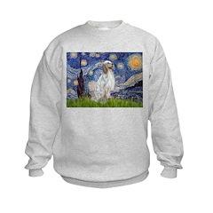 English Setter / Starry Night Sweatshirt