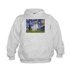 English Setter / Starry Night Hoodie