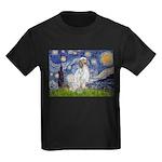 English Setter / Starry Night Kids Dark T-Shirt