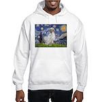 English Setter / Starry Night Hooded Sweatshirt