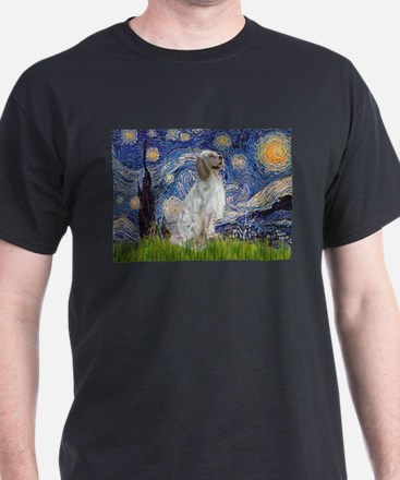 English Setter / Starry Night T-Shirt