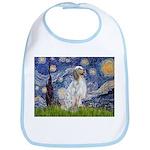 English Setter / Starry Night Bib