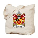 Brierley Family Crest Tote Bag