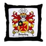 Brierley Family Crest Throw Pillow