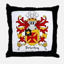 Brierley Family Crest Throw Pillow