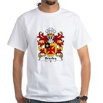 Brierley Family Crest White T-Shirt