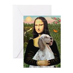 Mona's English Setter Greeting Cards (Pk of 20)