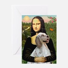 Mona's English Setter Greeting Card