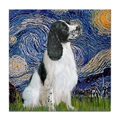Starry / Eng Springer Tile Coaster