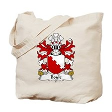 Boyle Family Crest Tote Bag