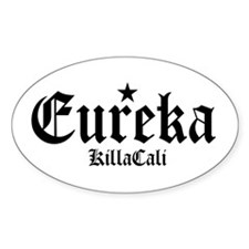 Eureka Oval Decal