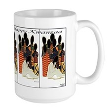 Happy Kwanzaa It Takes a Village Mug
