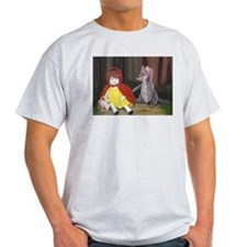 Moonlight Fantasies Red Riding H Ash Grey T-Shirt