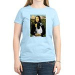 Mona Lisa/English Springer Women's Light T-Shirt