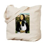 Mona Lisa/English Springer Tote Bag