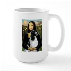 Mona Lisa/English Springer Large Mug