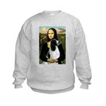 Mona Lisa/English Springer Kids Sweatshirt