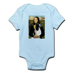 Mona Lisa/English Springer Infant Bodysuit